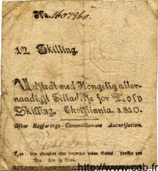 12 Skilling NORVÈGE  1810 P.A11 TB