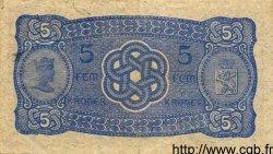5 Kroner NORVÈGE  1913 P.07a TTB+ à SUP