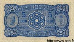 5 Kroner NORVÈGE  1943 P.07c pr.NEUF