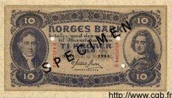 10 Kroner NORVÈGE  1944 P.08ds pr.NEUF