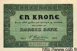 1 Krone NORVÈGE  1917 P.13 SUP+