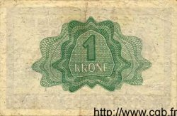 1 Krone NORVÈGE  1942 P.15a TTB