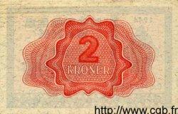 2 Kroner NORVÈGE  1944 P.16a SUP+