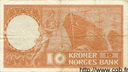 10 Kroner NORVÈGE  1971 P.31f TTB