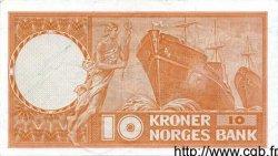 10 Kroner NORVÈGE  1972 P.31f SUP
