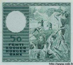50 Kroner NORVÈGE  1965 P.32c pr.NEUF