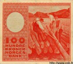 100 Kroner NORVÈGE  1950 P.33a TTB