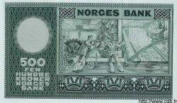 500 Kroner NORVÈGE  1972 P.34f NEUF