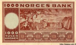1000 Kroner NORVÈGE  1961 P.35c TTB+