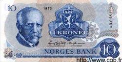 10 Kroner NORVÈGE  1973 P.36a pr.NEUF