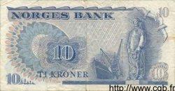10 Kroner NORVÈGE  1979 P.36b TTB