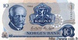 10 Kroner NORVÈGE  1984 P.36b