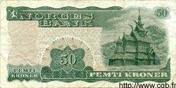 50 Kroner NORVÈGE  1976 P.37d TB