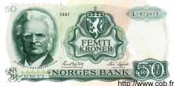 50 Kroner NORVÈGE  1981 P.37d