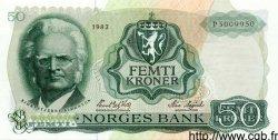 50 Kroner NORVÈGE  1983 P.37d NEUF