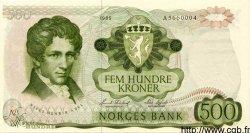500 Kroner NORVÈGE  1985 P.39b NEUF