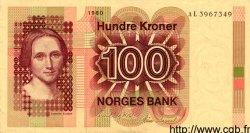 100 Kroner NORVÈGE  1980 P.41b SPL