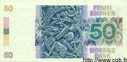 50 Kroner NORVÈGE  1987 P.42b pr.SUP