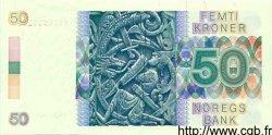 50 Kroner NORVÈGE  1989 P.42c pr.NEUF