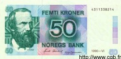 50 Kroner NORVÈGE  1990 P.42c SUP