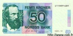 50 Kroner NORVÈGE  1990 P.42c pr.NEUF