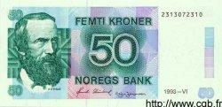 50 Kroner NORVÈGE  1993 P.42c pr.NEUF