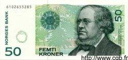 50 Kroner NORVÈGE  1999 P.46b NEUF