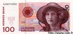 100 Kroner NORVÈGE  1999 P.47b pr.NEUF