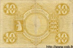 10 Kroner GROENLAND  1953 P.19 TB
