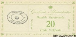 20 Skilling GROENLAND  1941 P.M10 NEUF