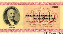 100 Kronur ÎLES FEROE  1975 P.18d NEUF