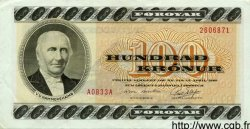 100 Kronur ÎLES FEROE  1983 P.21b TTB+ à SUP