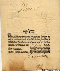 2 Riksdaler SUÈDE  1834 P.A117c TTB