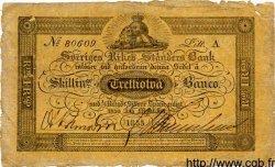32 Skillingar Banco SUÈDE  1855 P.A123c TB