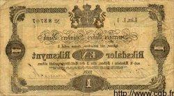 1 Riksdaler SUÈDE  1868 P.A138 TB+
