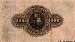 1000 Kronor SUÈDE  1913 P.31 TB+