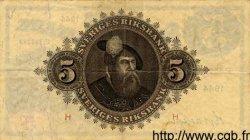 5 Kronor SUÈDE  1944 P.33m TTB