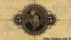 5 Kronor SUÈDE  1945 P.33m TB