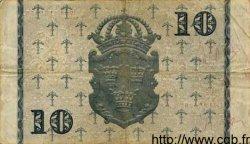 10 Kronor SUÈDE  1944 P.40d