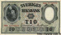 10 Kronor SUÈDE  1944 P.40d SUP+