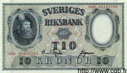 10 Kronor SUÈDE  1950 P.40g pr.NEUF