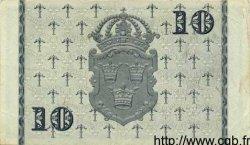 10 Kronor SUÈDE  1951 P.40g TTB+