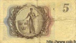 5 Kronor SUÈDE  1955 P.42a TB