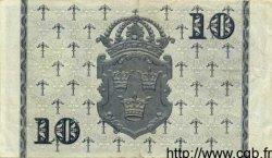 10 Kronor SUÈDE  1955 P.43c TTB+