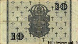 10 Kronor SUÈDE  1956 P.43b TTB