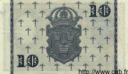 10 Kronor SUÈDE  1957 P.43c TTB+ à SUP