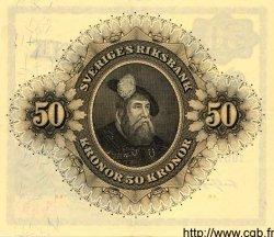 50 Kronor SUÈDE  1957 P.44a SUP