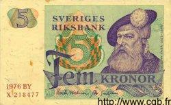 5 Kronor SUÈDE  1976 P.51c TTB