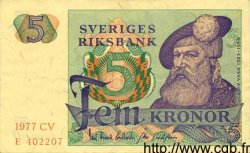 5 Kronor SUÈDE  1977 P.51d TTB+