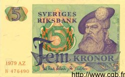 5 Kronor SUÈDE  1979 P.51d pr.NEUF